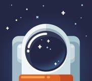 Atronauta nello spazio illustrazione di stock