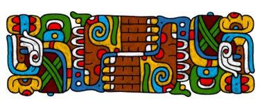 atrwork майяское иллюстрация вектора