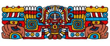 AtrWork Mayan Fotografia Stock Libera da Diritti