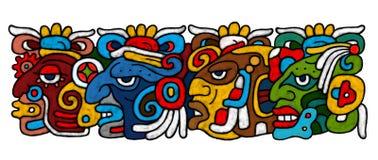 AtrWork Mayan Fotografia Stock