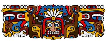 AtrWork Mayan Fotografie Stock
