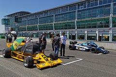 ATS i Theodore na F1 zaczyna siatkę obrazy stock