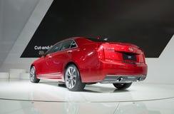 ATS-L od Cadillac super samochodu w samochód wystawie zdjęcia stock