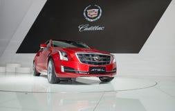 ATS-L od Cadillac super samochodu w samochód wystawie obraz stock