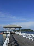 atsadang桥梁ko sichang泰国 免版税图库摄影