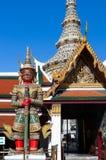 Atsakanmala,one of twelve giant demons Yaksha,  guarding the Royalty Free Stock Photo
