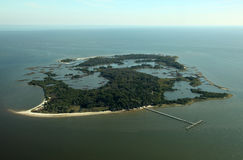 Atsena Otie Key near Cedar Key, Florida Stock Photo
