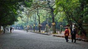 Atsuta津沽(热田神宫)在名古屋,日本 库存图片