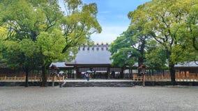 Atsuta津沽(热田神宫)在名古屋,日本 图库摄影