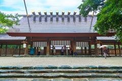 Atsuta津沽(热田神宫)在名古屋,日本 免版税库存照片
