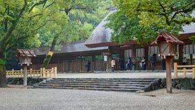 Atsuta津沽(热田神宫)在名古屋,日本 免版税图库摄影