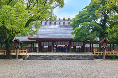 Atsuta-jingu (santuário de Atsuta) em Nagoya, Japão Fotografia de Stock