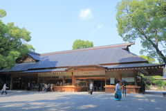 Atsuta relikskrin Nagoya Japan Arkivfoton