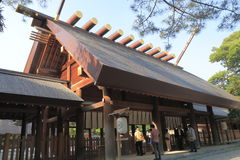 Atsutaheiligdom Nagoya Japan royalty-vrije stock afbeeldingen