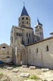 Den Cluny abbeyen står hög Royaltyfri Foto