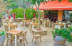 Att att äta i Haifa Royaltyfri Foto