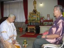 Att att bli munk royaltyfri bild