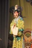 Att att klä upp till är kvinnor: PekingOpera-avsked till min concubine Royaltyfri Fotografi