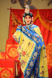 Att att klä upp till är kvinnor: PekingOpera-avsked till min concubine Royaltyfri Bild