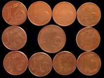 Att att sätta två cents in royaltyfria foton