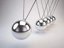 Att balansera klumpa ihop sig Newtons vaggar vektor illustrationer
