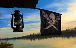 Att besöka piratkopierar Royaltyfri Bild