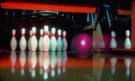 att bowla går l5At s Arkivfoton