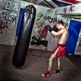 att boxas öva royaltyfri fotografi