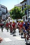 Att cykla turnerar till Spanien 69 Arkivbild