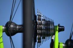 Att cykla utrustar Arkivfoto