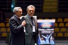 Att fäkta kuper Torino 2013 Arkivfoton