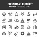att fästa för jul ihop innehåller digitala inställda symbolsillustrationbanor vektor illustrationer