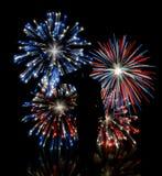 att fira som är fritt, håller oss som Royaltyfri Bild