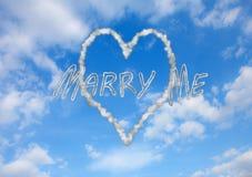 Att gifta sig Royaltyfri Fotografi