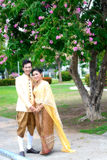 Att gifta sig att gifta sig par Arkivbild