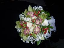 Att gifta sig blommar för bruden arkivfoto