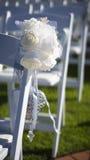 Att gifta sig blommar på plats Fotografering för Bildbyråer