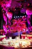 Att gifta sig bordlägger Royaltyfri Fotografi