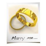 Att gifta sig mig det ögonblickliga fotoet Fotografering för Bildbyråer