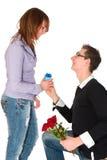 att gifta sig mig skallr dig Royaltyfri Foto