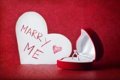 att gifta sig mig skallr dig Royaltyfria Bilder