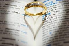 att gifta sig mig skallr dig Arkivbilder