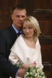 att gifta sig nytt para Fotografering för Bildbyråer