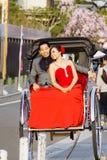 att gifta sig par Royaltyfri Fotografi
