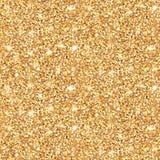Att glöda guld- blänker den sömlösa modellen Royaltyfri Illustrationer