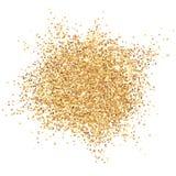 Att glöda guld- blänker vektorillustrationen Stock Illustrationer