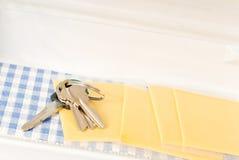 att glömma keys ditt Fotografering för Bildbyråer