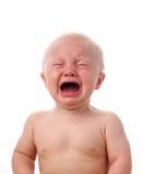 Att gråta behandla som ett barn pojken Royaltyfria Foton