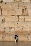 att jämra sig vägg för 3 jerusalem Royaltyfria Bilder