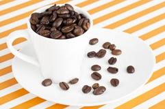 att komma för kaffe låter vara planterar ut fröstemen Royaltyfri Bild